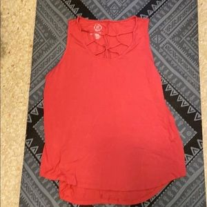 Maurices 24/7 cage neck tank